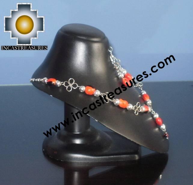 Jewelry kit Huayruro Seeds Awasqa - Product id: Andean-Jewelry10-06 Photo02
