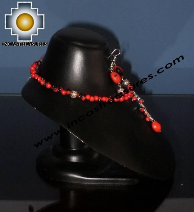 Jewelry kit Huayruro Seeds qhuya - Product id: Andean-Jewelry10-12 Photo03