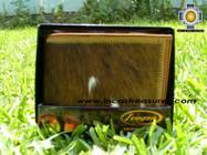Andean Leather Wallet Andean YUPANKI,free shipping