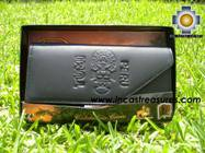 Andean Leather Wallet Tumi Peru ,free shipping worldwide