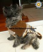 Dog Turtle neck sweater Brown - Product id: dog-clothing-10-06 Photo03