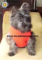 Dog Turtle neck sweater red - Product id: dog-clothing-10-07 Photo01