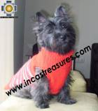 Dog Turtle neck sweater red - Product id: dog-clothing-10-07 Photo05