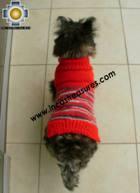 Dog Turtle neck sweater red - Product id: dog-clothing-10-07 Photo05