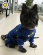 Dog Sleepwear Huesitos - Product id: dog-clothing-10-03 Photo05