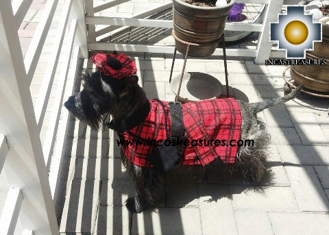 Dog Clothing with HAT - Lord JOCK the Scottish