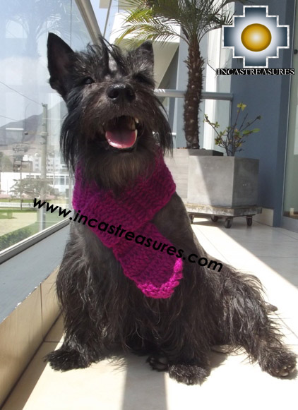Alpaca Scarf for dogs Alqu - Product id: dog-clothing-15-01