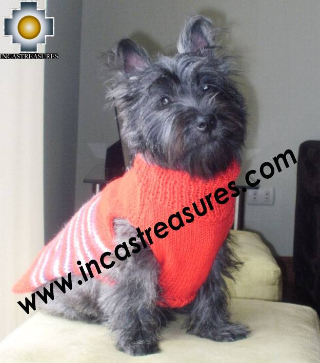 Dog Turtle neck sweater red - Product id: dog-clothing-10-07
