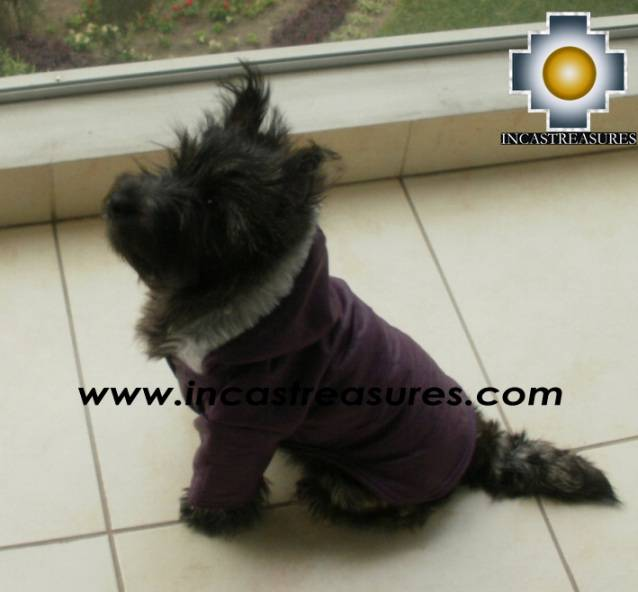 Dog Jacket with Hood ROBIN - Product id: dog-clothing-10-01