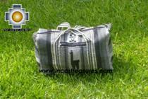 Alpaca Travel bag medium AMAUTA silver - Product id: HANDBAGS09-50 Photo02