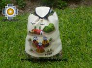 Beautiful Backpack with Incas culture borders andean-party   - Product id: HANDBAGS09-70 Photo02