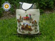 Beautiful Backpack with Incas culture borders journey   - Product id: HANDBAGS09-69 Photo03