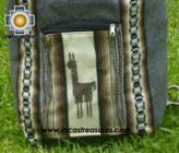 big alpaca travel backpack dark-grey - Product id: HANDBAGS09-40 Photo02