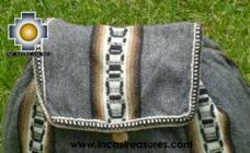 big alpaca travel backpack dark-grey - Product id: HANDBAGS09-40 Photo03
