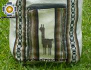 big alpaca travel backpack IVORY - Product id: HANDBAGS09-38 Photo02