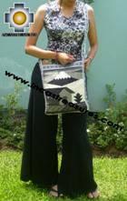 big Handmade sheep wool square handbag autumn - Product id: HANDBAGS09-29 Photo01