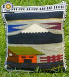 big Handmade sheep wool square handbag big-volcano - Product id: HANDBAGS09-26 Photo02