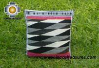big Handmade sheep wool square handbag dimentions - Product id: HANDBAGS09-30 Photo02