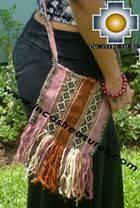 Handbag with handmade embroided ayacucho - Product id: HANDBAGS09-62 Photo01