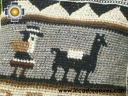 handmade handbag alpaca sheep ANDEAN harvest - Product id: HANDBAGS09-04 Photo02