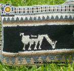 handmade handbag alpaca sheep ANDEAN night - Product id: HANDBAGS09-05 Photo03