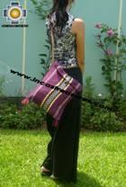 handmade handbag of bolivian blanket CHICHA - Product id: HANDBAGS09-17 Photo04