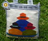 Handmade sheep wool square handbag PAISANAS - Product id: HANDBAGS09-07 Photo02