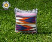 Handmade sheep wool square handbag stripes - Product id: HANDBAGS09-16 Photo01