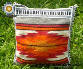 Handmade sheep wool square handbag sunrise - Product id: HANDBAGS09-14 Photo02