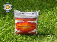 Handmade sheep wool square handbag sunrise - Product id: HANDBAGS09-14 Photo01