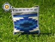 Handmade sheep wool square handbag sunset - Product id: HANDBAGS09-13 Photo01