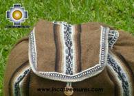 medium alpaca travel backpack BROWN - Product id: HANDBAGS09-41 Photo03