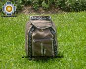medium alpaca travel backpack marbling-beige - Product id: HANDBAGS09-42 Photo01