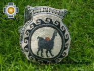 Round Handbag sheep wool day ALPACA - Product id: HANDBAGS09-33 Photo02