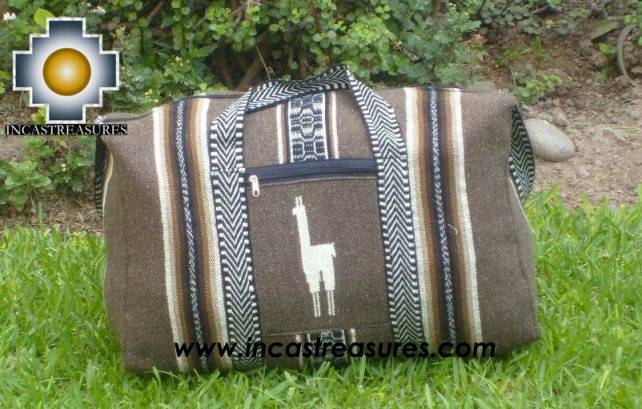 Big Alpaca Travel bag TAMBO silver - Product id: HANDBAGS09-57
