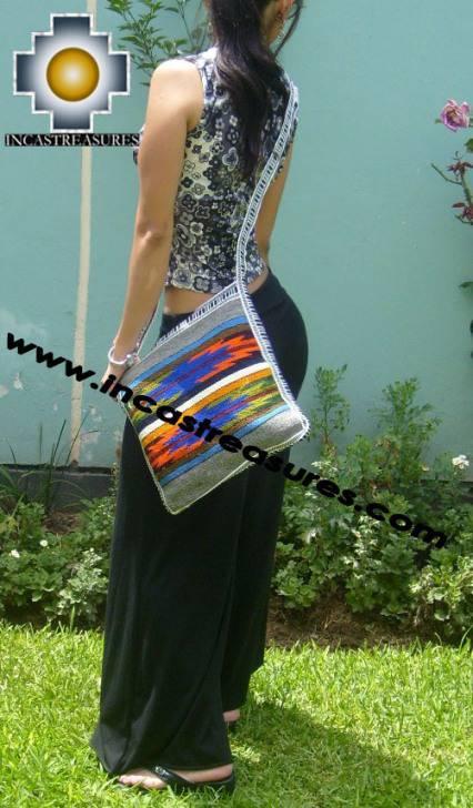 big Handmade sheep wool square handbag mystic - Product id: HANDBAGS09-31