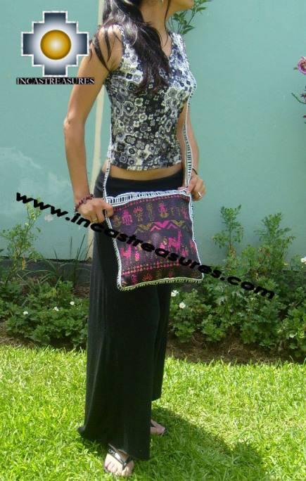 Preincas Coton Handbag Morning God