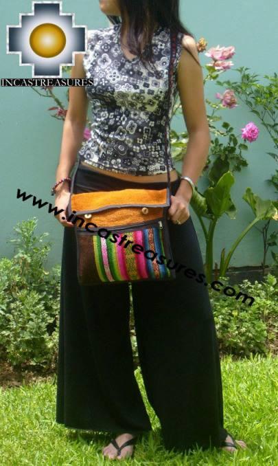 Sheep wool handbag from Cuzco apu-rainbow - Product id: HANDBAGS09-54