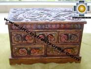 Home Decor Jewelry Case Trunk Flowers - Product id: home-decor10-14 Photo07