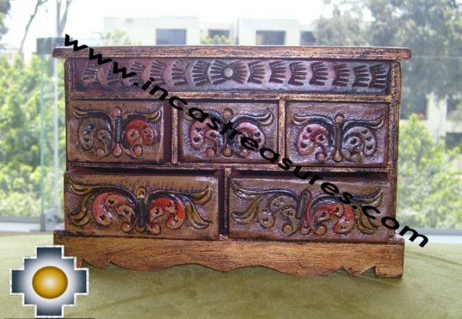 Home Decor Jewelry Case Trunk Flowers - Product id: home-decor10-14