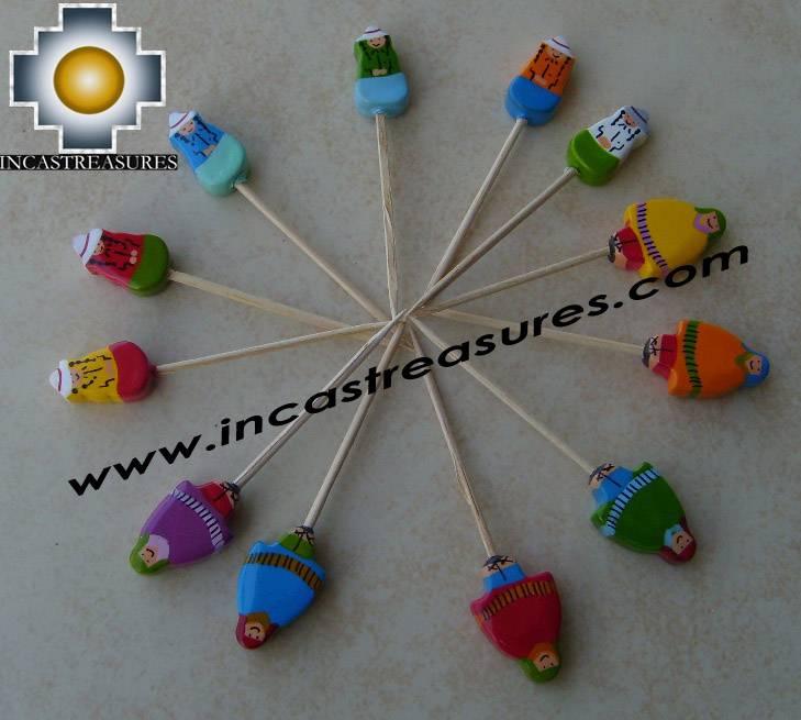 Home decor toothpicks Cholitas Toothpick