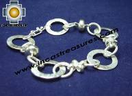 Jewelry 950 Silver bracelet Intis - Product id: Silver-Jewelry10-03 Photo01