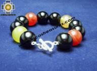 Silver jewelry Bracelet AGATA