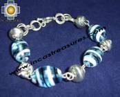 Silver jewelry Bracelet capuchon
