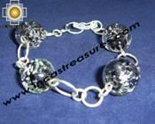 Silver jewelry Bracelet saturn