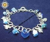 Jewelry 950 Silver bracelet cat-eyes - Product id: silver-Jewelry10-11