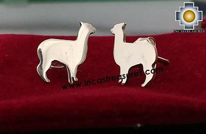 Jewelry 950 Silver Earrings Mini Alpaca