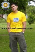 100% Pima Cotton Tshirt Inca Kola - Product id: cotton-tshirt09-03 Photo03