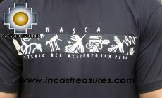 100% Pima Cotton Tshirt Nazca lines - Product id: cotton-tshirt09-11 Photo02