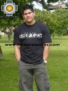 100% Pima Cotton Tshirt Nazca lines - Product id: cotton-tshirt09-11 Photo01
